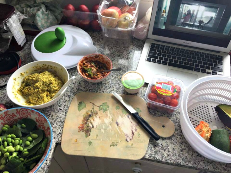 dinner-spread